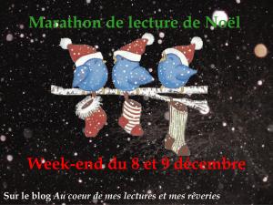 Logo-marathon de lecture de Noël