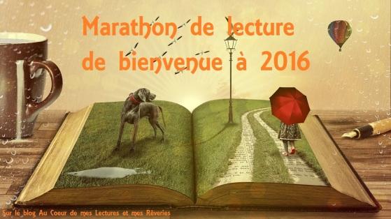 marathon de lecture de bienvenue à 2016